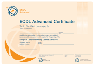 ECDL-Certifikat-Advanced